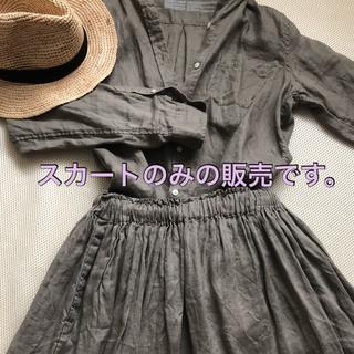 ムジルシリョウヒン(MUJI (無印良品))の無印良品のリネンシャツとスカートのセット(シャツ/ブラウス(長袖/七分))