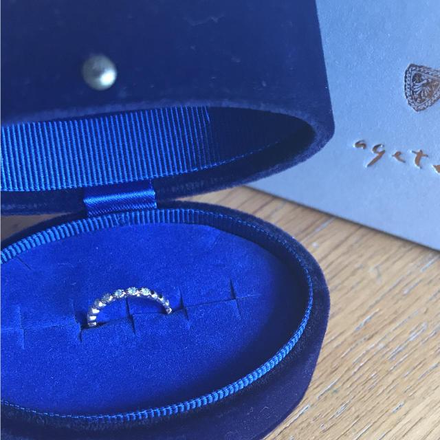 agete(アガット)のアガット ピンキーリング 10K レディースのアクセサリー(リング(指輪))の商品写真