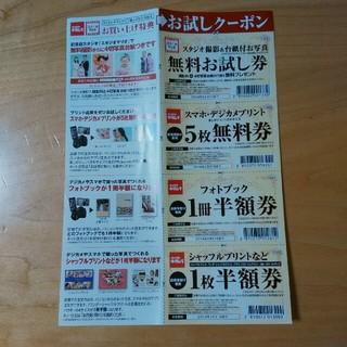 キタムラ(Kitamura)のスタジオマリオ 無料お試し券セット(その他)