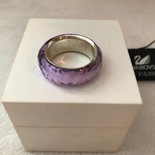 スワロフスキー(SWAROVSKI)のスワロフスキー 指輪 リング ニルヴァナ パープル 紫 swarovski(リング(指輪))
