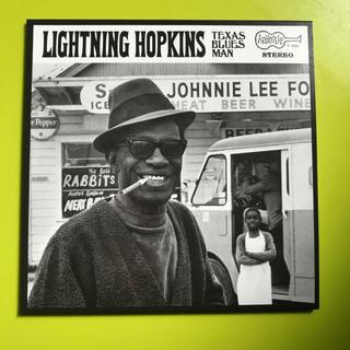 【値下げ】ライトニンホプキンス Texas Blues Man 解説歌詞(ブルース)