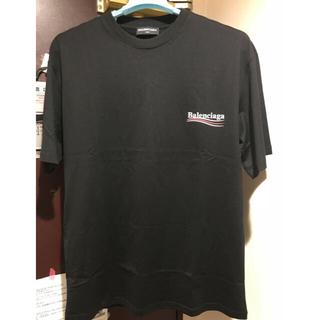 バレンシアガ(Balenciaga)のbalenciaga BALENCIAGA ロゴTシャツ(Tシャツ/カットソー(半袖/袖なし))