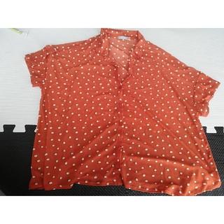 ジーユー(GU)のgu シャツ ドット(シャツ/ブラウス(半袖/袖なし))