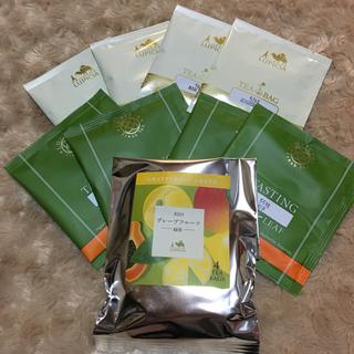 ルピシア テイスティングティー 8セット&グレープフルーツ(茶)