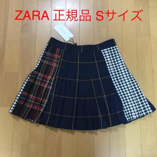 ザラ(ZARA)のZARA ザラ チェック ミニスカート 安室奈美恵 S 正規品(ミニスカート)