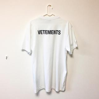バレンシアガ(Balenciaga)のヴェトモン  スタッフ Tシャツ(Tシャツ/カットソー(半袖/袖なし))