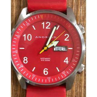 アンドロイド(ANDROID)のメンズ 時計 Android レアカラー☆(腕時計(アナログ))