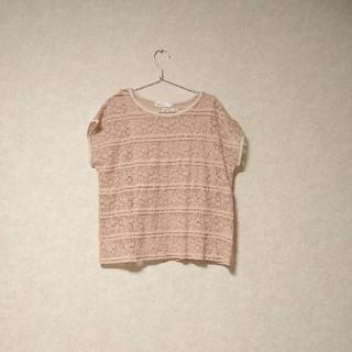 クチュールブローチ(Couture Brooch)のクチュールブローチ*レース トップス セット(カットソー(半袖/袖なし))