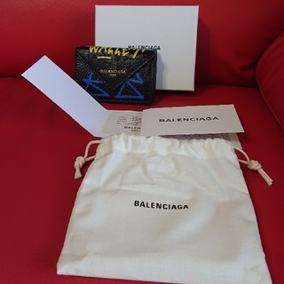 バレンシアガ(Balenciaga)のバレンシアガ 新品 本物 ミニ 折財布 BALENCIAGA(財布)