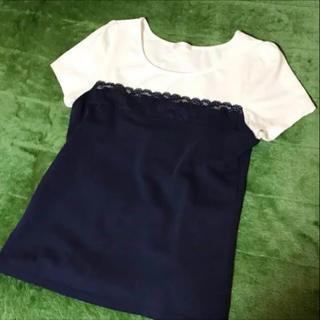 フェルゥ(Feroux)のフェルゥ 切替カットソー(カットソー(半袖/袖なし))