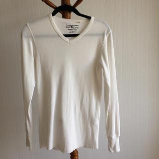 アヴィレックス(AVIREX)のAVIREX メンズ カットソー シャツ M 送料無料 値下げしました(Tシャツ/カットソー(七分/長袖))