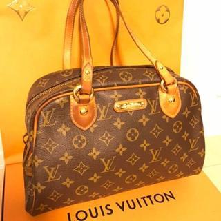 ルイヴィトン(LOUIS VUITTON)のルイヴィトン 正規品 モントルグイユPM ハンドバッグ(ハンドバッグ)