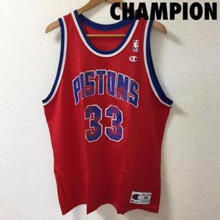 チャンピオン(Champion)の1101 NBA チャンピオン グラントヒル ピストンズ ユニフォーム 33(タンクトップ)