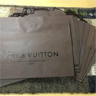 ルイヴィトン(LOUIS VUITTON)のルイヴィトン  純正 紙袋 15枚セット(52808)(ショップ袋)
