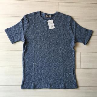 ナノユニバース(nano・universe)の【新品タグ付き】ナノユニバース ムラ糸Tシャツ M(Tシャツ/カットソー(半袖/袖なし))