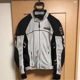 コミネ 春夏メッシュジャケット サイズL(ライダースジャケット)