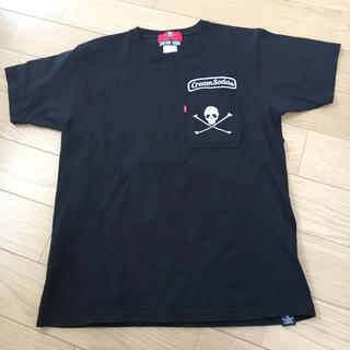 CREAM SODA Tシャツ クリームソーダ 黒(Tシャツ/カットソー(半袖/袖なし))