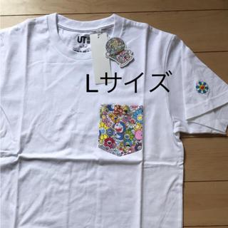 ユニクロ(UNIQLO)の新品★ Lサイズ ユニクロ ドラえもん Tシャツ 村上隆(Tシャツ/カットソー(半袖/袖なし))