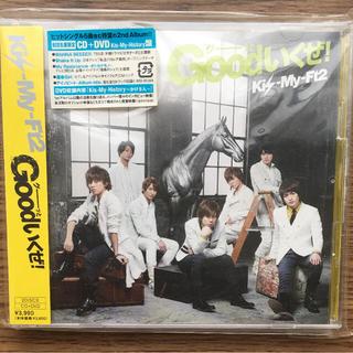 キスマイフットツー(Kis-My-Ft2)の新品同様 Good(グーッと)いくぜ! 初回生産限定(CD+DVD)(ポップス/ロック(邦楽))