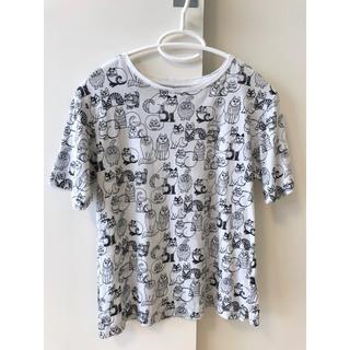 ユニクロ(UNIQLO)のユニクロ リサラーソン Tシャツ XS 猫 リサ・ラーソン ネコ UT(Tシャツ(半袖/袖なし))