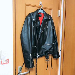 BLACK FLAME 革ジャン(ライダースジャケット)