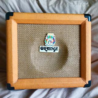 ORANGE 10wアンプcrush10  ※都内手渡し応相談 動作良好(ギターアンプ)