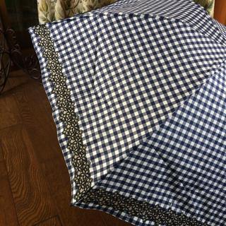 アンテプリマ(ANTEPRIMA)の新品アンテプリマフィオーリネイビーチェック折り畳み傘(傘)