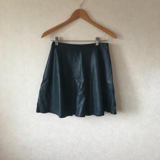 ノーリーズ(NOLLEY'S)のスカート レザー風 ノーリーズ nolly's  38 M(ひざ丈スカート)