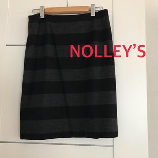 ノーリーズ(NOLLEY'S)のノーリーズ☆ボーダースカート(ひざ丈スカート)