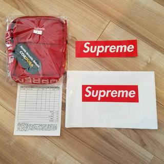 シュプリーム(Supreme)の新品 国内 18ss supreme shoulder bag(ショルダーバッグ)