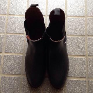 レインブーツ 長靴 メンズ 男物 サイドゴア レインシューズ ビジネスマン(長靴/レインシューズ)