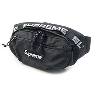 シュプリーム(Supreme)のシュプリーム supreme ウエストバッグ waist bag 黒 18ss(ウエストポーチ)