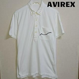 アヴィレックス(AVIREX)のAVIREX ポロシャツ 白(ポロシャツ)
