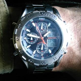 アヴィレックス(AVIREX)のAVIREX 時計(腕時計(アナログ))