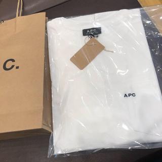アーペーセー(A.P.C)のapc ロゴ ポケット tシャツ  (Tシャツ/カットソー(半袖/袖なし))