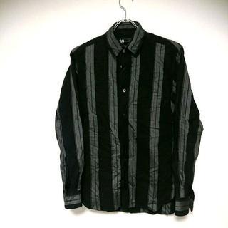 ソー(SO)のSO ストライプシャツ 黒グレー(シャツ)