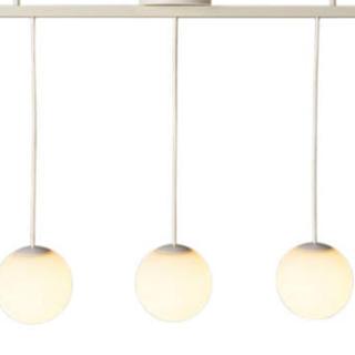 ムジルシリョウヒン(MUJI (無印良品))の無印 LEDシリコーンペンダントライト 3灯タイプ(天井照明)