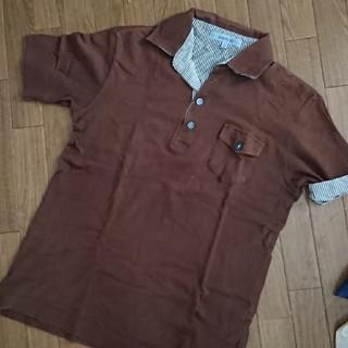 アバハウス(ABAHOUSE)のアバハウス 茶色 ポロシャツ Mサイズ(ポロシャツ)