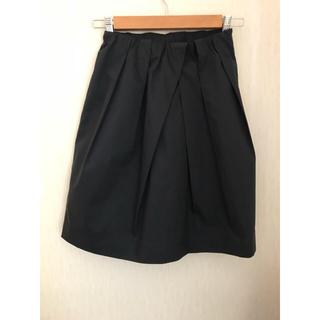 ノーリーズ(NOLLEY'S)のNOLLEY'Sスカート(濃紺・S)(ひざ丈スカート)