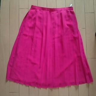 アバハウス(ABAHOUSE)のアバハウス☆ピンク☆スカート(ひざ丈スカート)