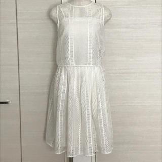 アンドクチュール(And Couture)のアンドクチュール☆ジオメトリックレースセットアップ 38サイズM(セット/コーデ)