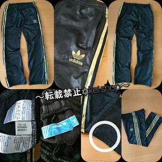 アディダス(adidas)のadidas originals ジャージ トラックパンツ 黒金3本ライン(その他)