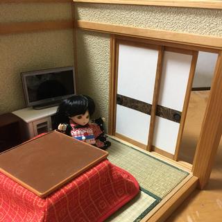 和室ドールハウス(模型製作用品)