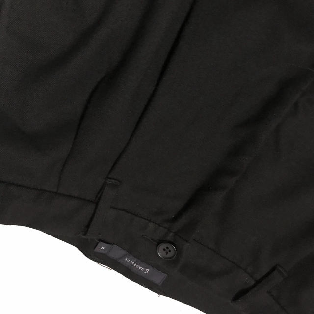 RAGEBLUE(レイジブルー)のRAGEBLUE ワイドパンツ ルーズ ブラック メンズのパンツ(スラックス)の商品写真