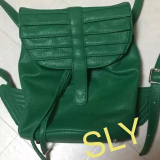 スライ(SLY)のSLY 2way リュック バック (リュック/バックパック)