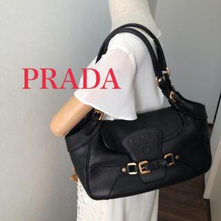 【美品】PRADA レザーバッグ