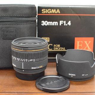 シグマ(SIGMA)のSIGMA 30mmf1.4 定番単焦点 PENTAX ペンタックス用(レンズ(単焦点))
