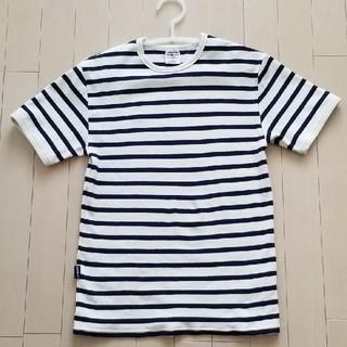アヴィレックス(AVIREX)のアヴィレック ボーダー オフホワイト Tシャツ(Tシャツ/カットソー(半袖/袖なし))