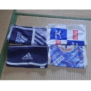 アディダス(adidas)のスポーツ用タオル  4枚セット(タオル/バス用品)