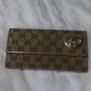 グッチ(Gucci)の残り僅か❗️グッチハート型GG長財布  (その他)